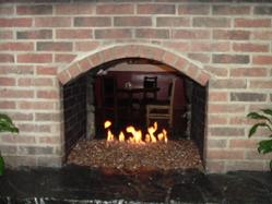 The experts of fireplace fire pit glass fire rocks and fire tables use this handy calculator to determine how much glass is needed measure the interior of the fireplace andor fire pit in inches type in the dimensions solutioingenieria Images