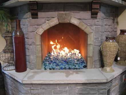 Fireplaces With Glass Rocks The Experts Of Fireplace Fire Pit Glass Fire Rocks And Fire Tables